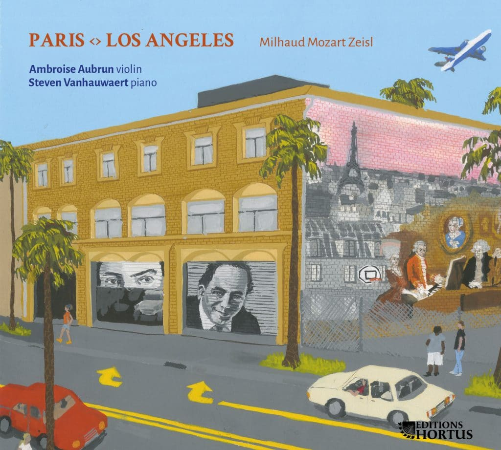 Pastimes for a Lifetime covers the release of the CD Paris - Los Angeles