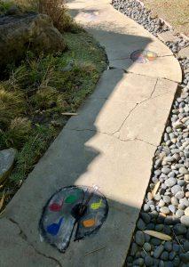 Pastimes for a Lifetime Student Sidewalk Chalk Art Invitational Artist Alexander V.