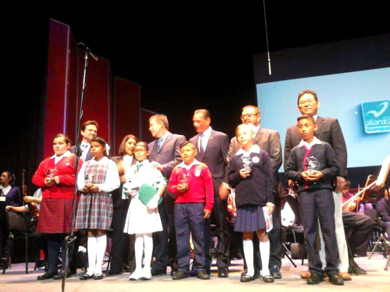 ProMusica Children's Orchestra in Guanajuato