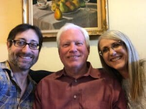 John Salmon visits Barry and Linda Wehrli in 2018