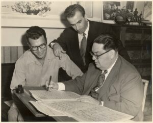 Brubeck and Milhaud