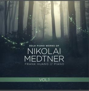 CD Cover Art for Frank Huang's Medtner Release