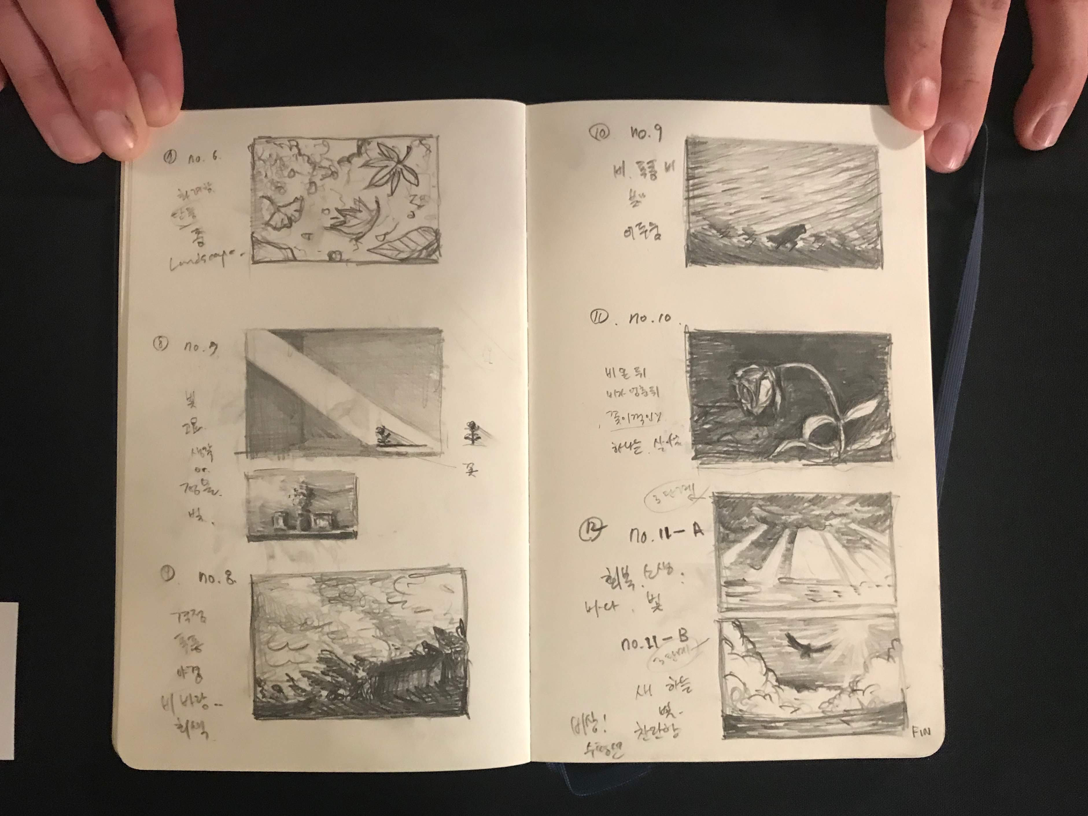 Moonsub Shin illustrations featured in Pastimes for a Lifetime Blog